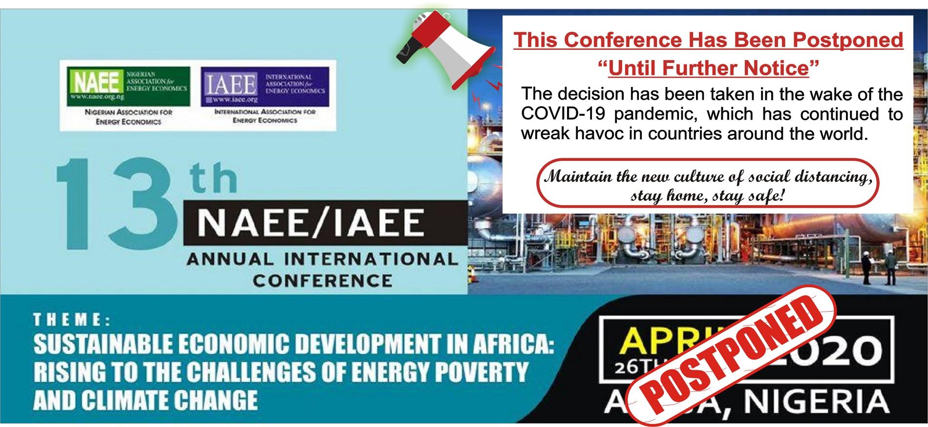 IAEE/NAEE 2020