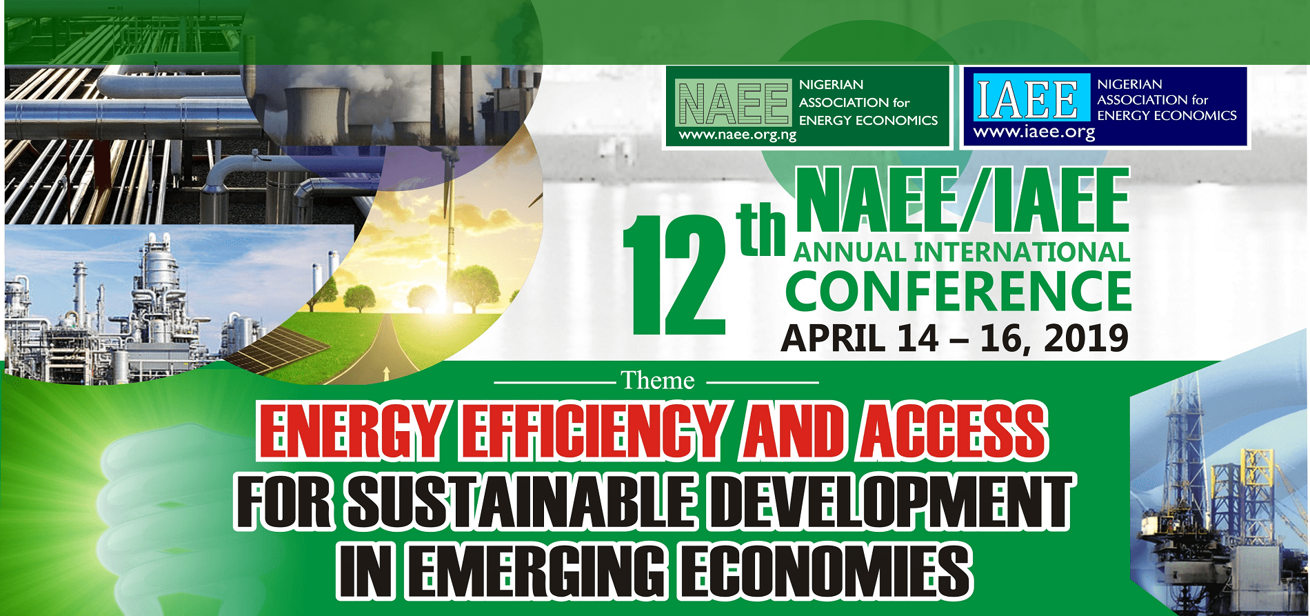 12th NAEE/IAEE international Conference